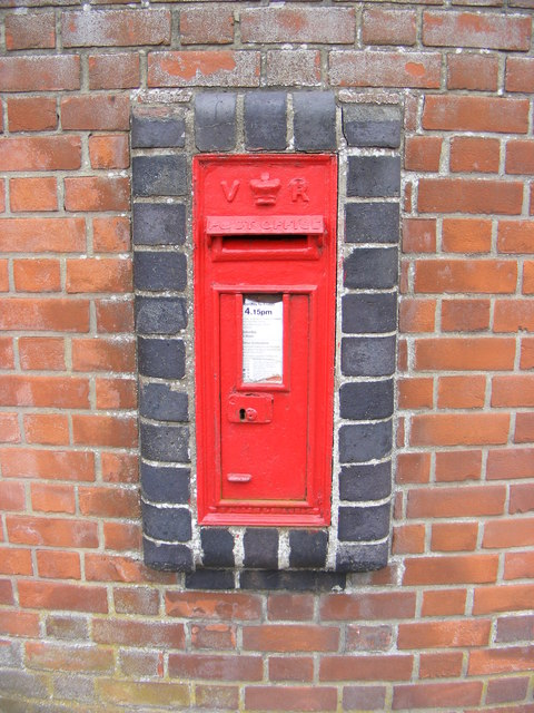 Market Hill Victorian Postbox