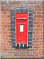 TG0324 : Market Hill Victorian Postbox by Adrian Cable