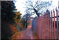 TQ2397 : Footpath on the edge of High Barnet by Nigel Chadwick