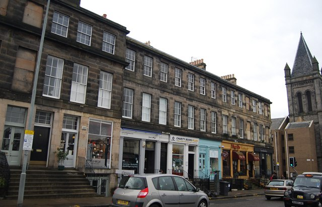 Listed buildings, Deanhaugh Rd, Stockbridge