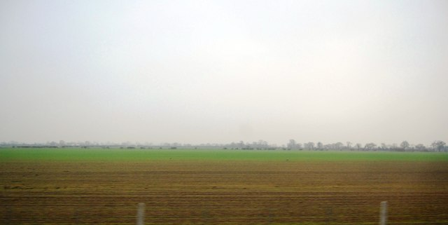 Flat landscape between the ECML and A1