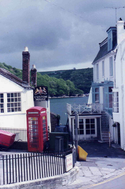 A colourful corner of Fowey
