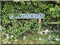 TG0526 : Foulsham Road Sign by Adrian Cable