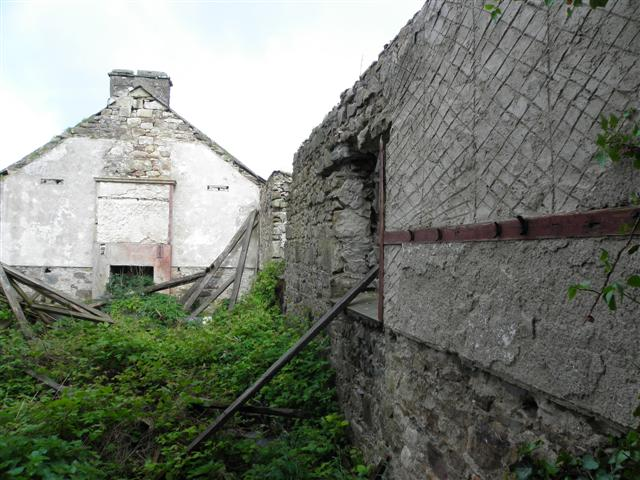 Interior, former school Garvaghullion