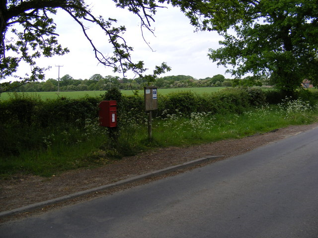 The Village Postbox &amp; Themelthorpe Village Notice Board