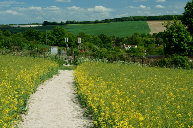 Footpath to Eynsford. Kent