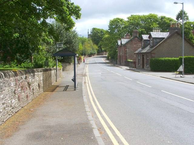 Main road through Cardross