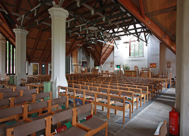 St Mary, Church Road, Barnes - Interior
