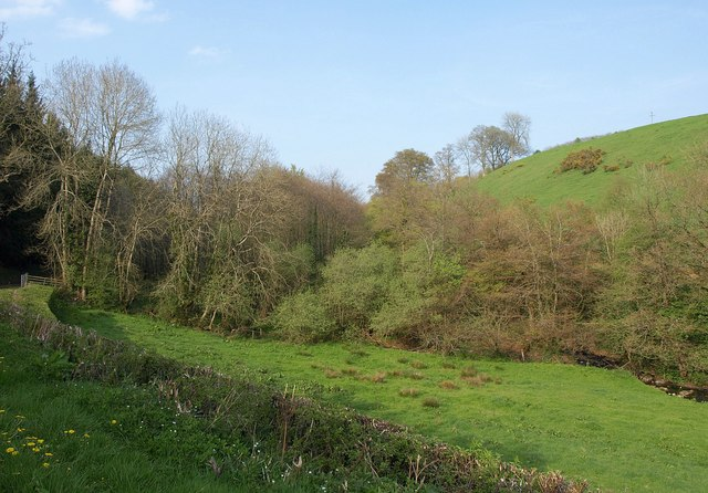 Dart valley below Templeton Bridge