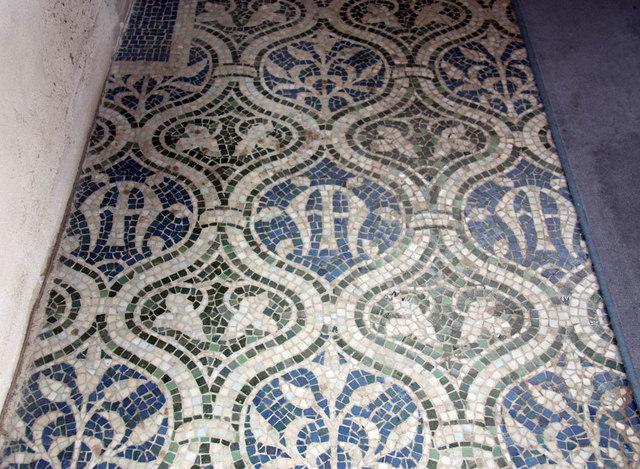 St Mary, Church Road, Barnes - Mosaic floor