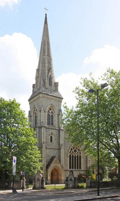 St Luke, Hillmarton Road, West Holloway