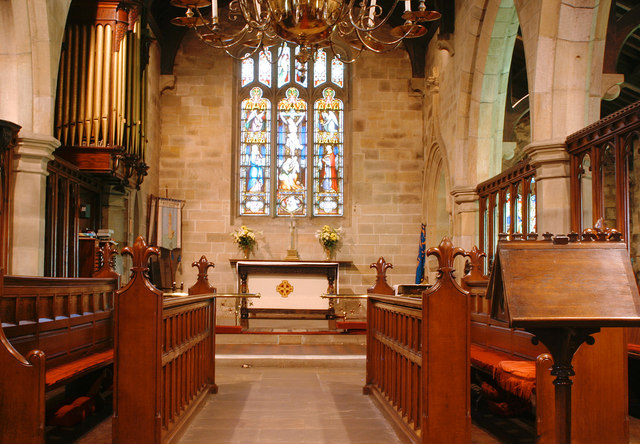 The Chancel at St Mary's Church