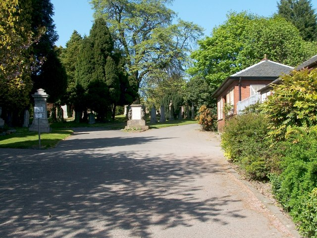 Dumbarton Cemetery entrance