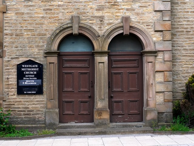 Doorways, Primitive Methodist Chapel, Westgate