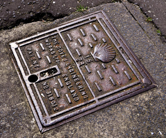 Dover Engineering Works access cover, Donaghadee