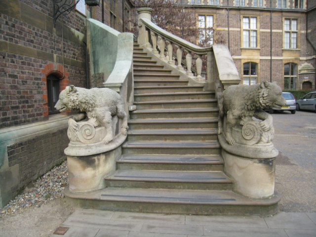 Steps to the Sedgwick Museum