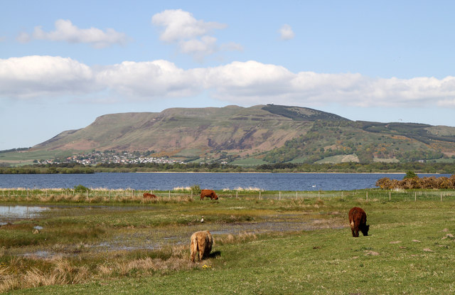 View Towards Kinnesswood and Bishop Hill