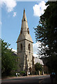 TQ3084 : St Andrew, Thornhill Square, Barnsbury by John Salmon