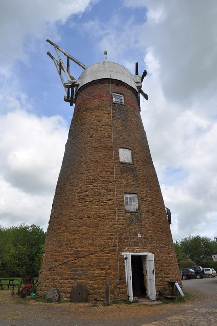 Wymondham Windmill - External View