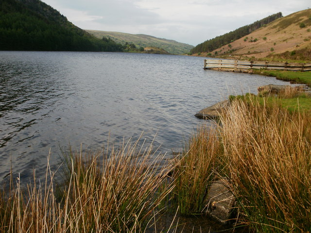 Llyn Geirionydd from the east shore