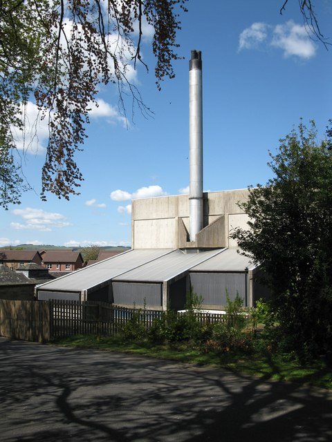 Boilerhouse at former Dingleton Hospital