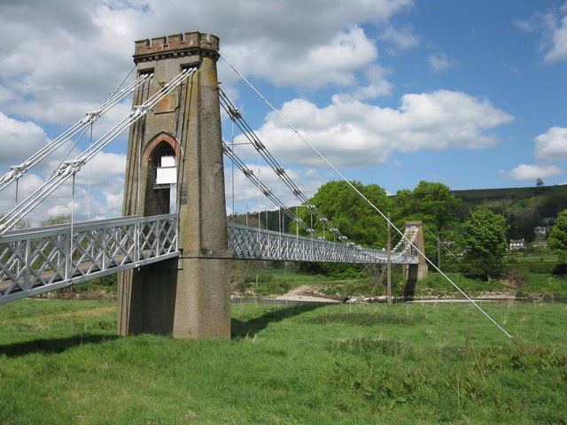 Gattonside Chain Bridge