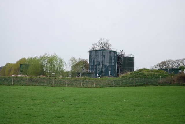 Sewage Works near Rolvenden Station
