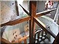 SJ9136 : Mosty Lea Mill - Washing Tub by John M