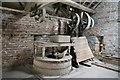 SO3759 : Court of Noke - model farm machinery by Chris Allen