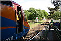 TG1001 : Train at Wymondham Abbey Station by Glen Denny