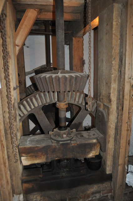 Shepshed Watermill - Bevel Gears