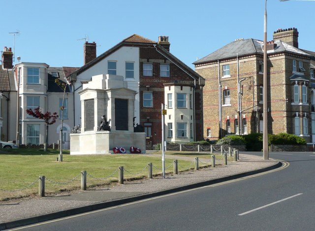 The war memorial, Dovercourt, Harwich