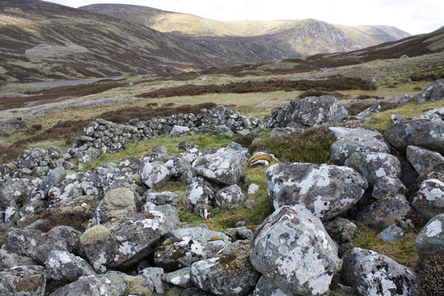 Old Shielings in Glen Callater