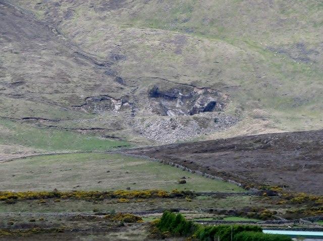 Granite Quarry Ireland a Disused Granite Quarry on