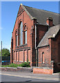SJ8649 : Burslem - Wycliffe Congregational Hall by Dave Bevis