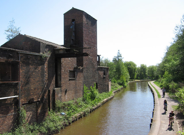 Middleport - factory near Milvale Street bridge