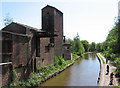 SJ8649 : Middleport - factory near Milvale Street bridge by Dave Bevis