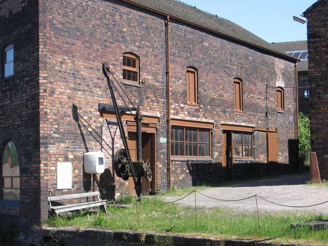 Middleport - workshop at north end of Pottery