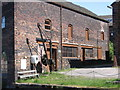 SJ8549 : Middleport - workshop at north end of Pottery by Dave Bevis