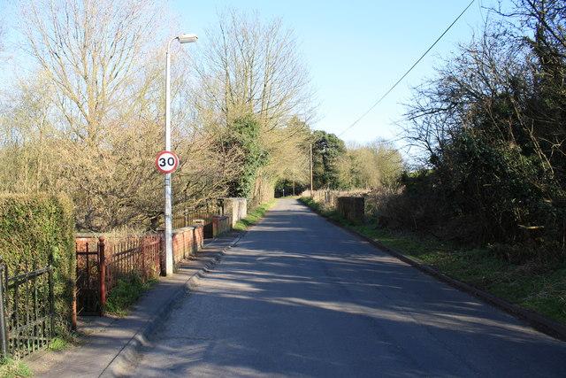 Cemetery Lane, Wymondham