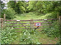 TM2856 : Footpath to Dallinghoo Road & Woodland Access into Potsford Wood by Adrian Cable