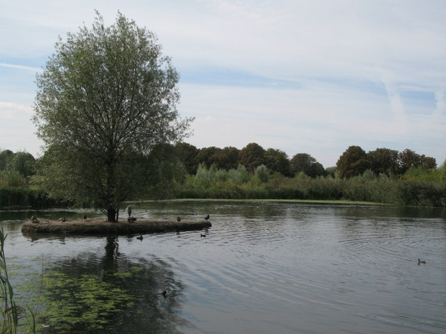 Lake in Sutcliffe Park
