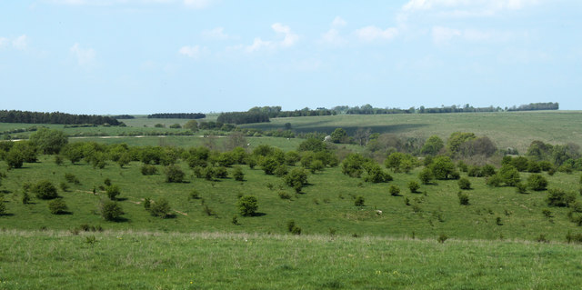 2011 : North west on the road to Heytesbury from Imber