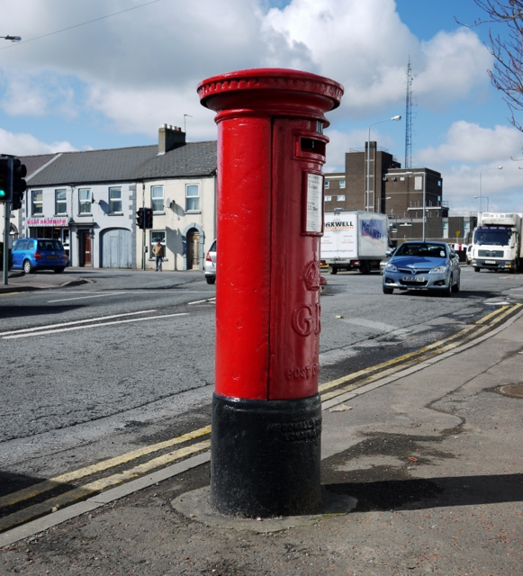 Postbox, Newtownards