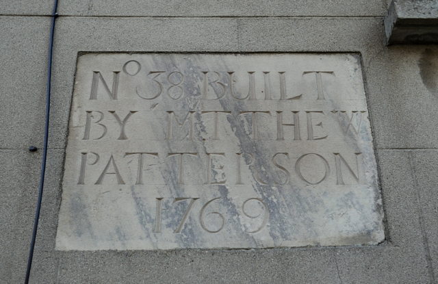 Stone plaque, Newtownards