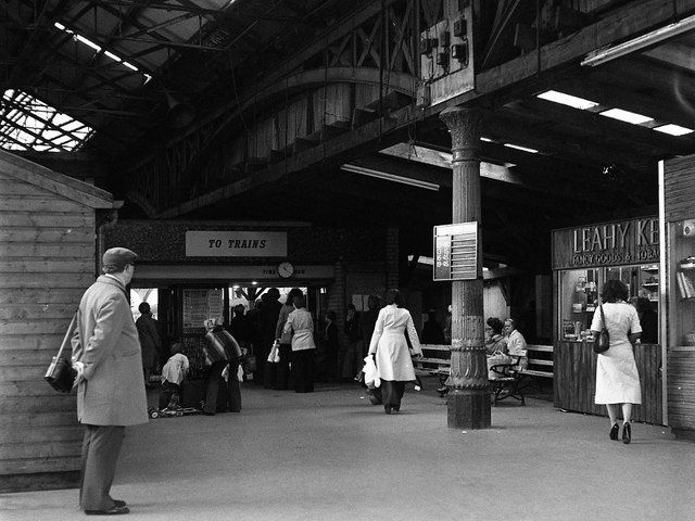 Great Victoria Street railway station - interior