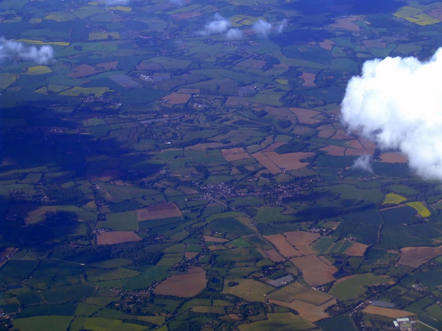 Nayland from the air