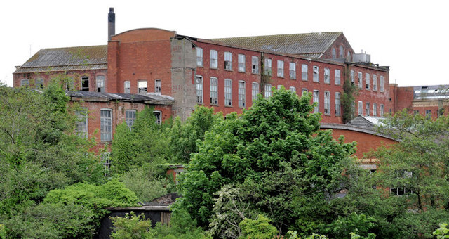 Former Barbour's Mill, Hilden (4)