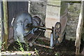 SO3227 : Clodock Mill - water turbine by Chris Allen