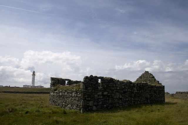 Orsay Chapel and Lighthouse, Islay